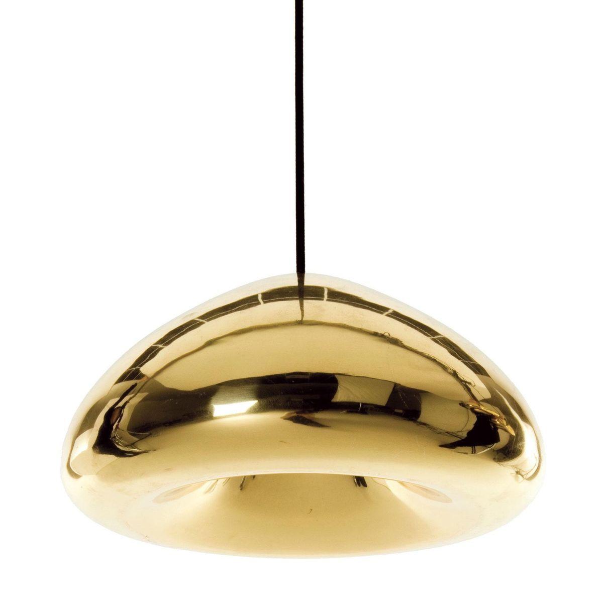 void suspension lamp tom dixon golden lights. Black Bedroom Furniture Sets. Home Design Ideas