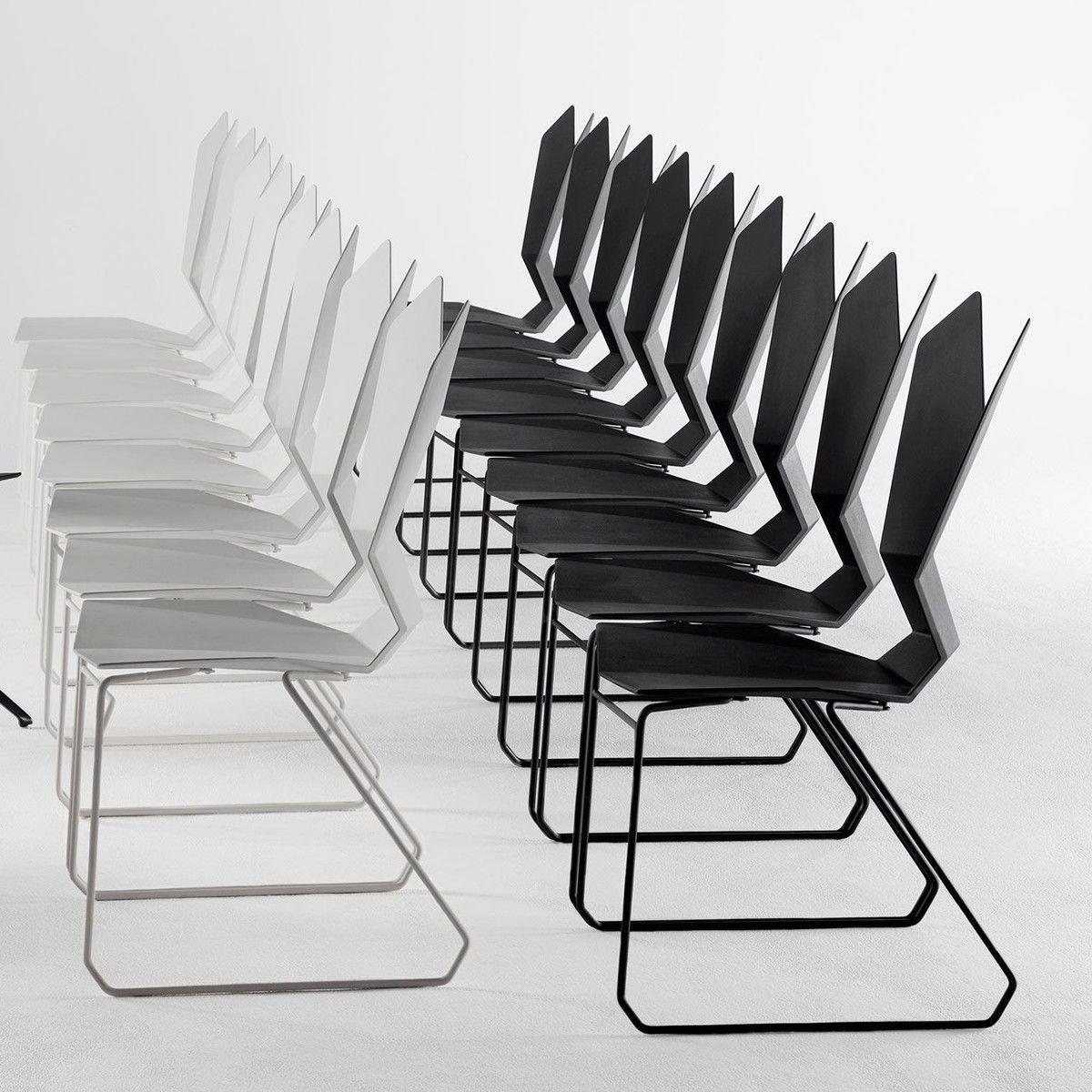 Y chair stuhl mit kufen tom dixon y chair for Design stuhl mit kufen