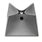 Hey-Sign - Big Box Korb XXL - 07 / hellmelliert/Materialstärke 5mm/40 x 40 cm