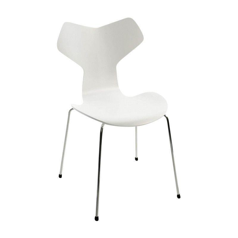 grand prix stuhl 46 5cm fritz hansen arne jacobsen st hle. Black Bedroom Furniture Sets. Home Design Ideas