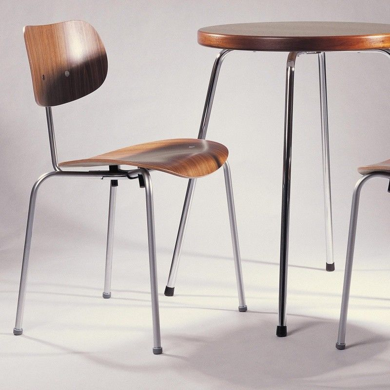 eiermann stuhl se 68 gestell chrom wilde spieth. Black Bedroom Furniture Sets. Home Design Ideas