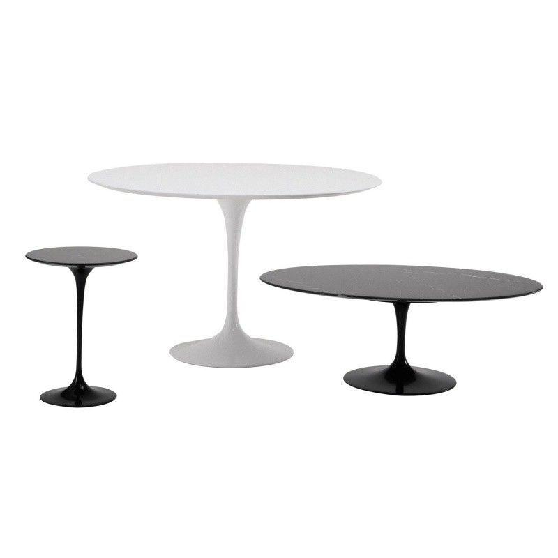 Saarinen table 107cm knoll international - Table saarinen knoll ...