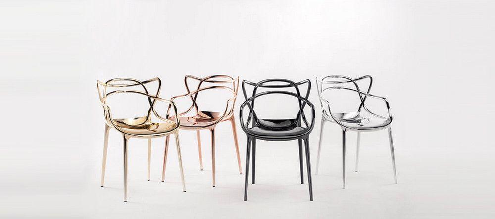 Buy kartell chairs lighting online ambientedirect - Chaises kartell masters ...