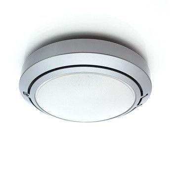 - Metropoli D20/27P - aluminium/lackiert/diffusor polycarbonat/H10cm Ø27cm