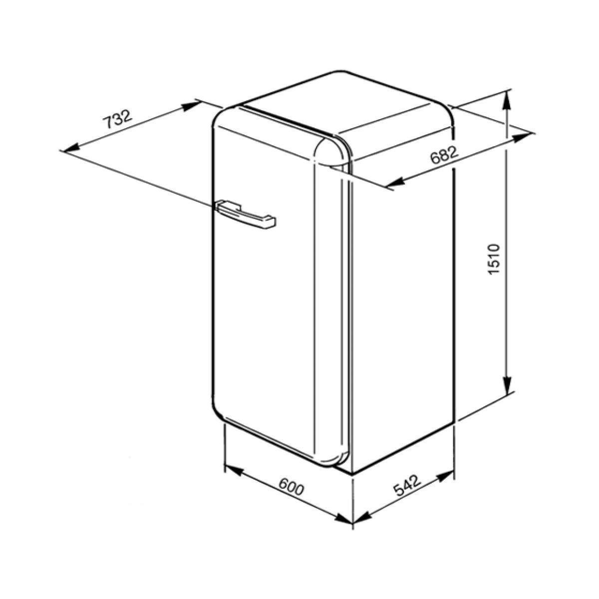 FAB28RDMC Multicolor Refrigerator | Smeg | AmbienteDirect.com | {Standkühlschränke 25}