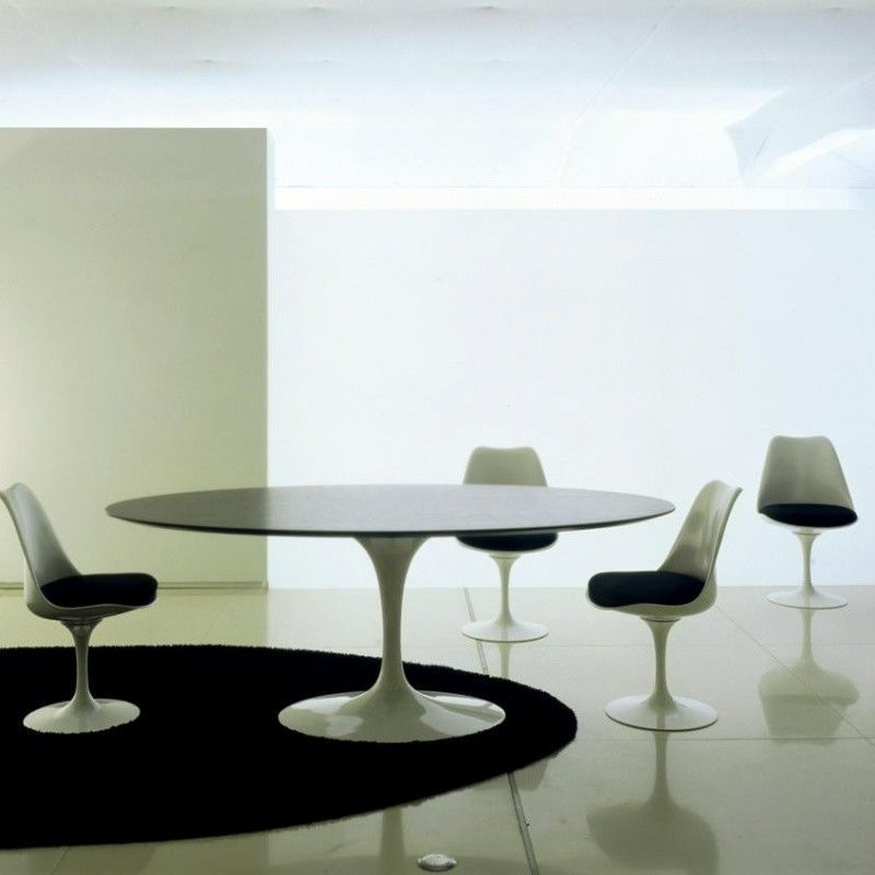 Saarinen tisch oval knoll international for Designer esstisch oval