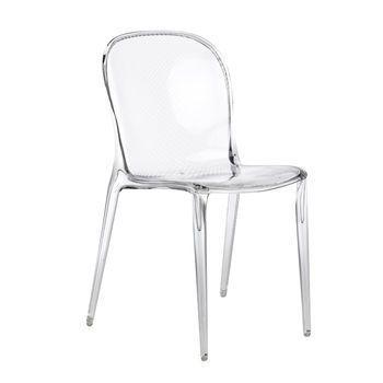 Thalya stoel kartell - Transparante stoel kartell ...