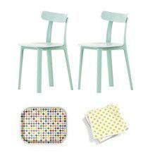 Vitra - Aktionsset All Plastic Chair Stuhl