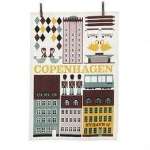 ferm LIVING - Copenhagen Tea Towel