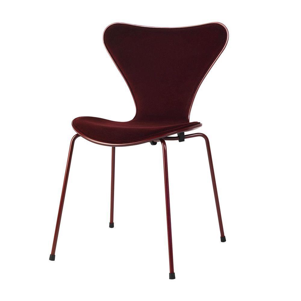 limited edition series 7 chair velvet fritz hansen. Black Bedroom Furniture Sets. Home Design Ideas