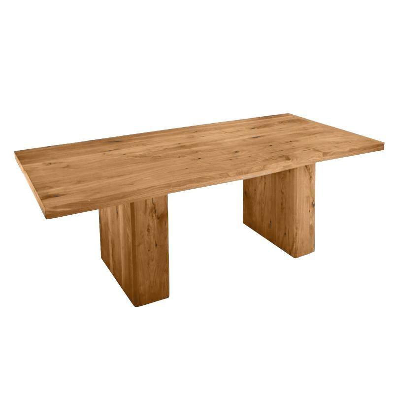 Ozelot table de bois massif adwood for Salle a manger bois massif