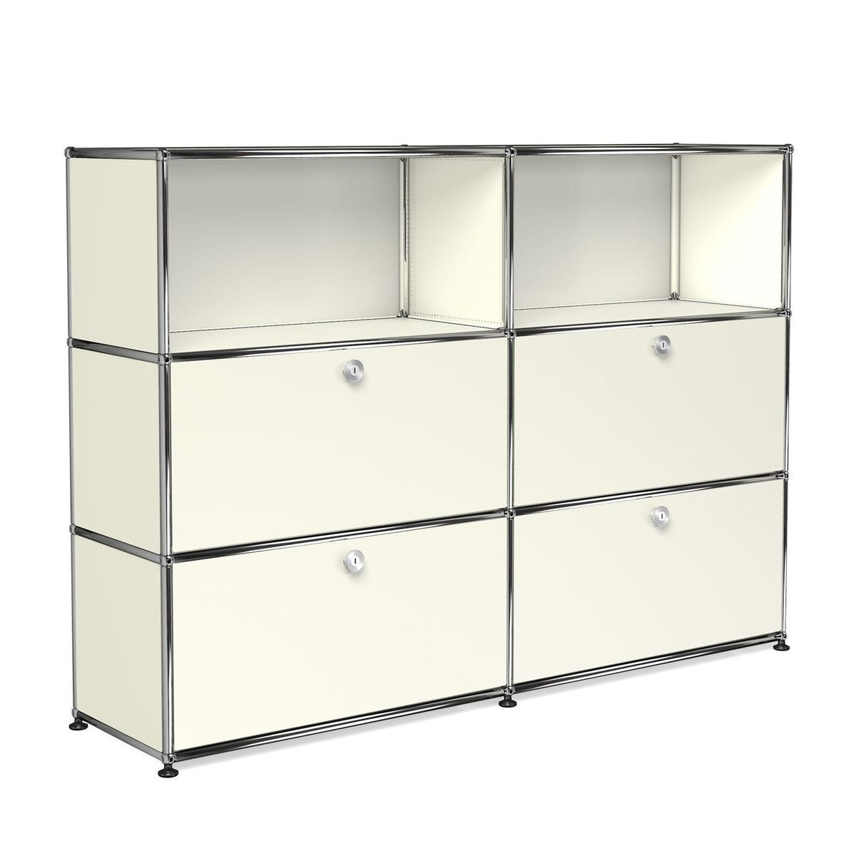 usm highboard met 4 klapdeuren usm haller. Black Bedroom Furniture Sets. Home Design Ideas