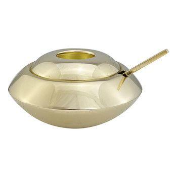 - Form Zuckerdose mit Löffel -