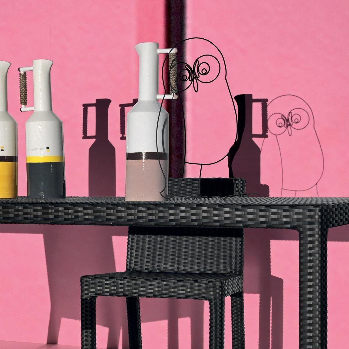 inout 223 polyrattan gartenstuhl gervasoni. Black Bedroom Furniture Sets. Home Design Ideas