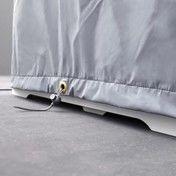 Conmoto - Riva Tisch Abdeckhaube - grau/Polyester/Größe 1/180x80cm