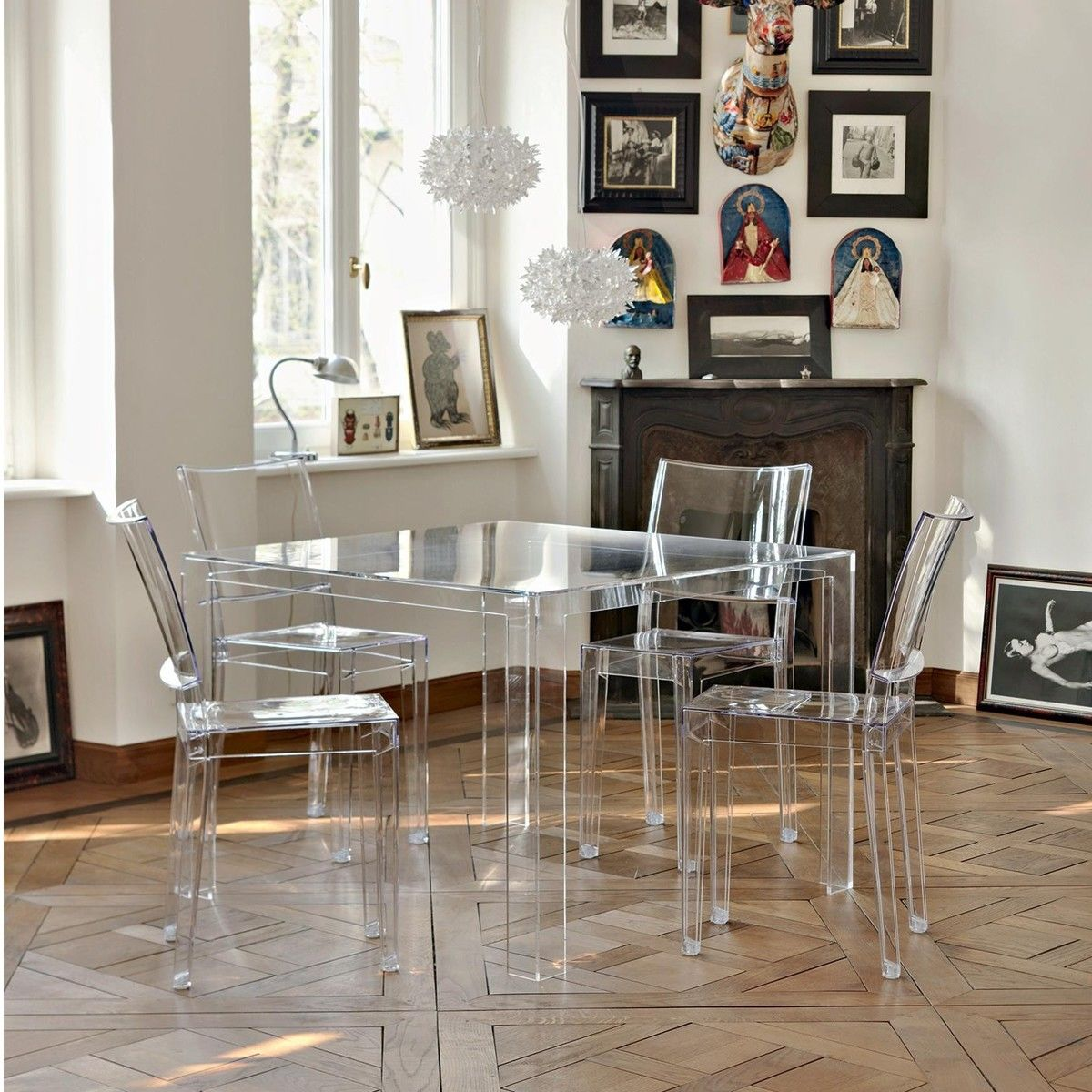 Invisible Table Table Kartell Ambientedirect Com