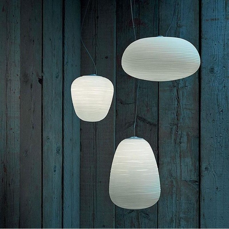 Rituals suspension lamp foscarini for Suspension 4 lampes