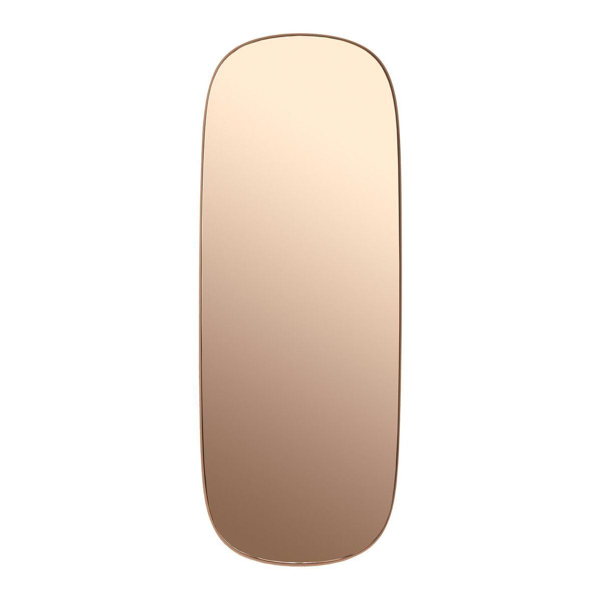 Muuto framed mirror miroir 118x44 5cm muuto miroirs - Muuto spiegel ...