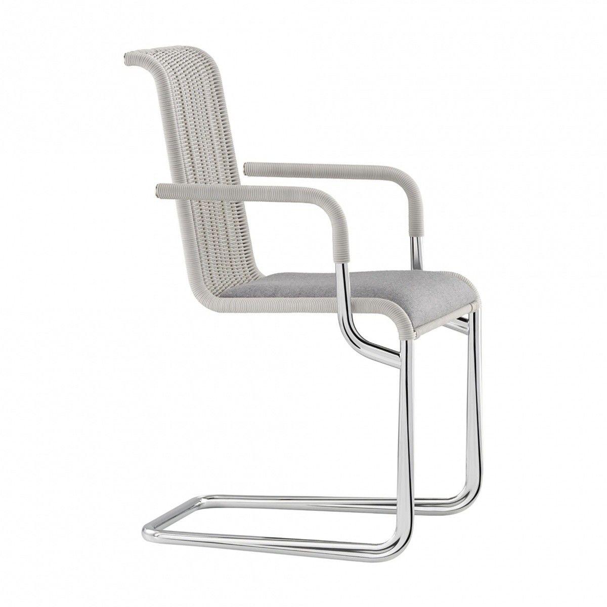 tecta d21i freischwinger armlehnstuhl tecta. Black Bedroom Furniture Sets. Home Design Ideas