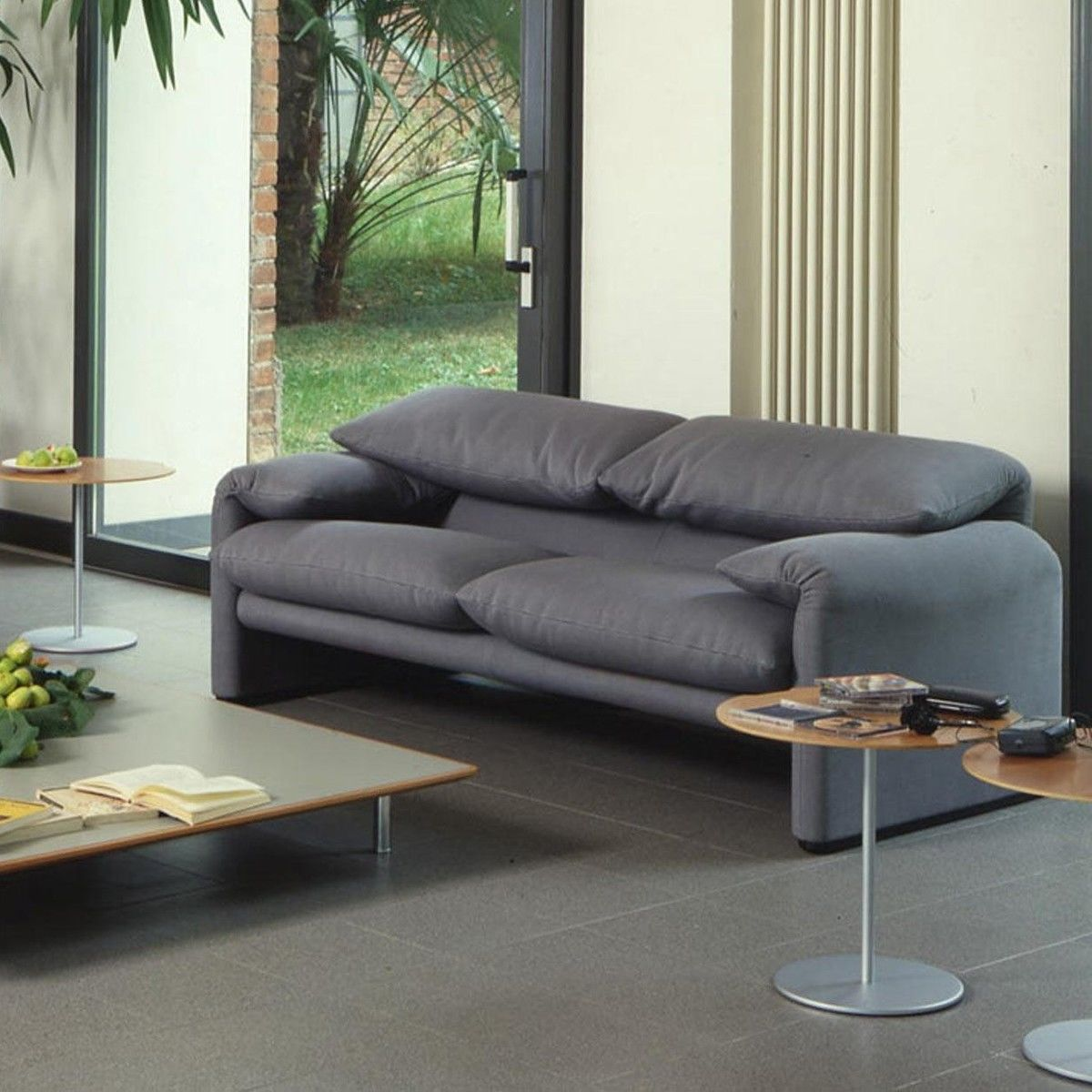 maralunga 40 2 zits sofa 166x86cm cassina. Black Bedroom Furniture Sets. Home Design Ideas