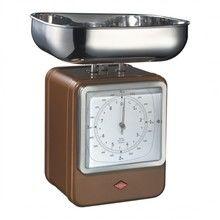 Wesco - Wesco Retro Waage mit Uhr