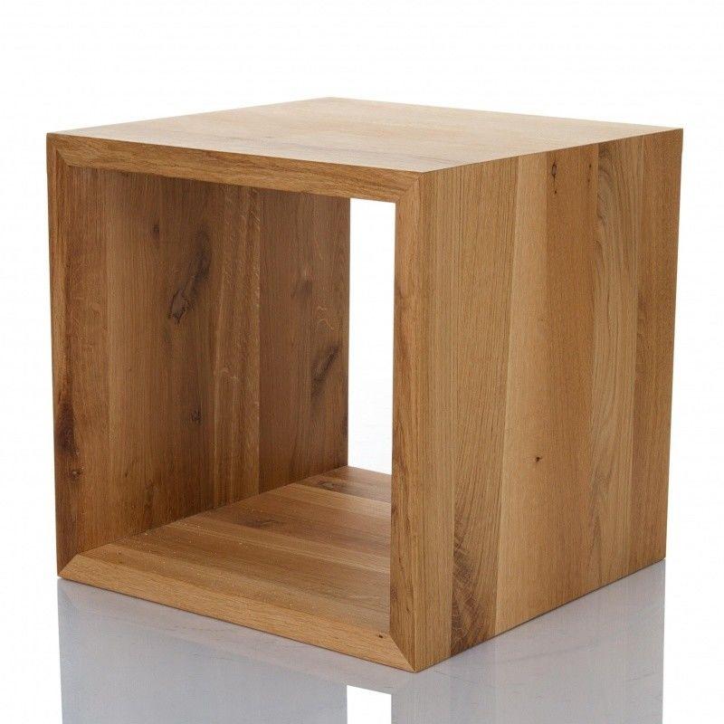 cubus beistelltisch w rfel holz jan kurtz. Black Bedroom Furniture Sets. Home Design Ideas