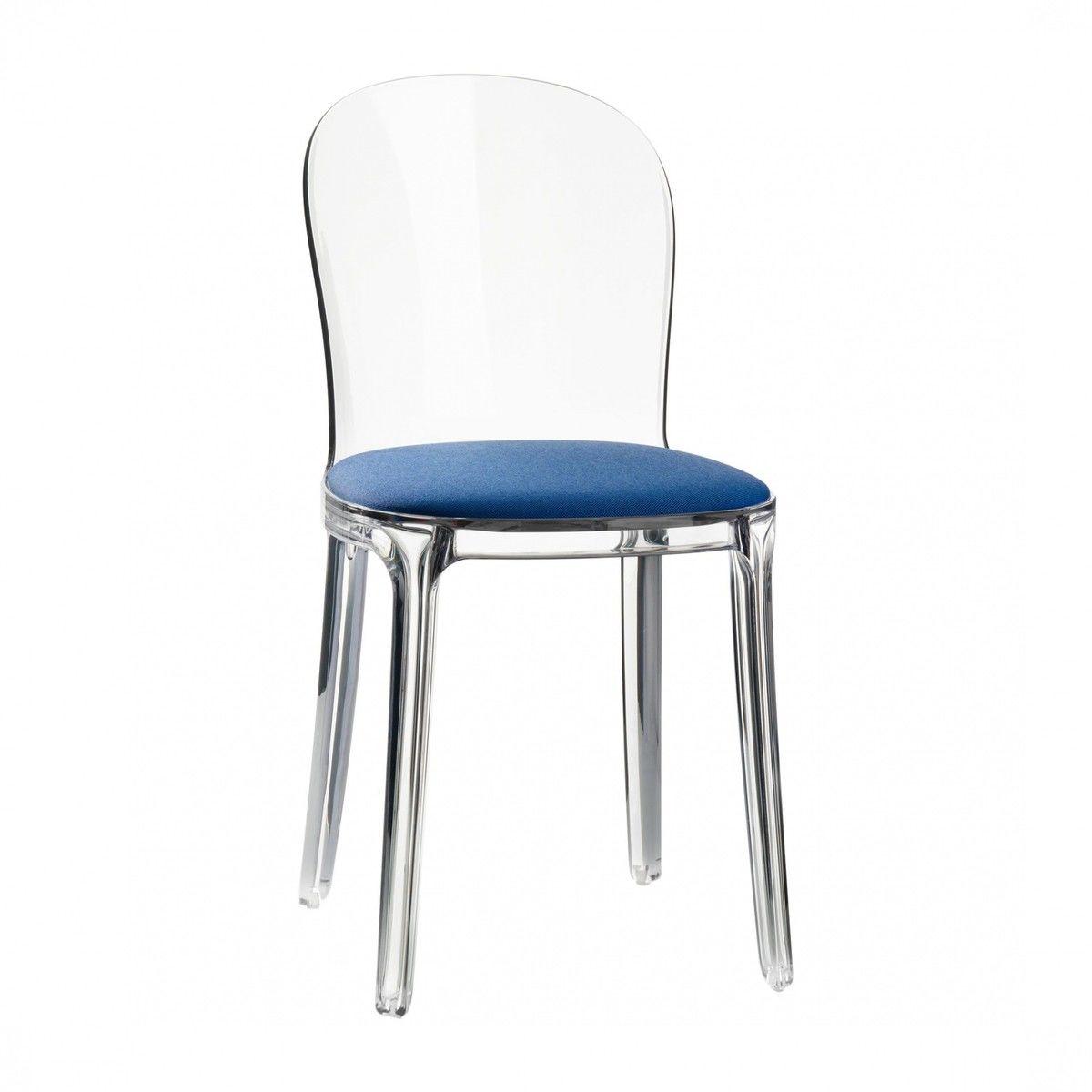 Vanity chair transparent magis for Magis chair
