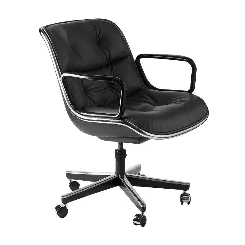 Pollock Swivel Chair with wheelsKnoll International