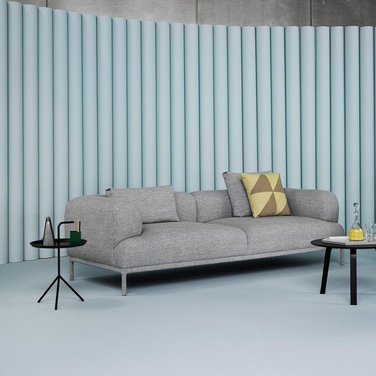 bj rn 3 seater sofa hay. Black Bedroom Furniture Sets. Home Design Ideas