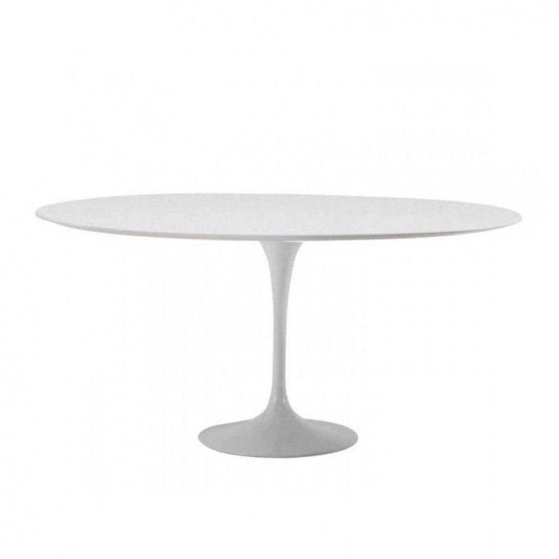 Saarinen table 137cm knoll international - Table saarinen knoll ...