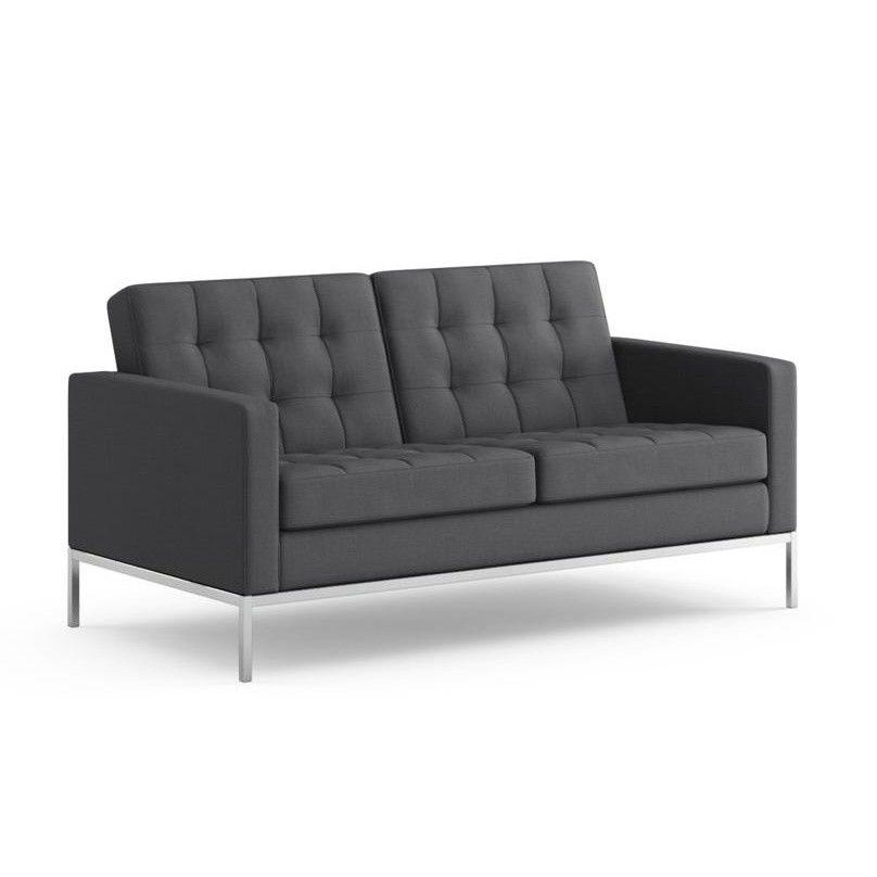 florence knoll 2 sitzer sofa knoll international sofa. Black Bedroom Furniture Sets. Home Design Ideas