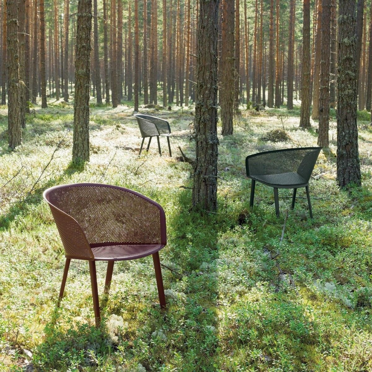 Stampa garden chair armchair kettal for Chaise candie life