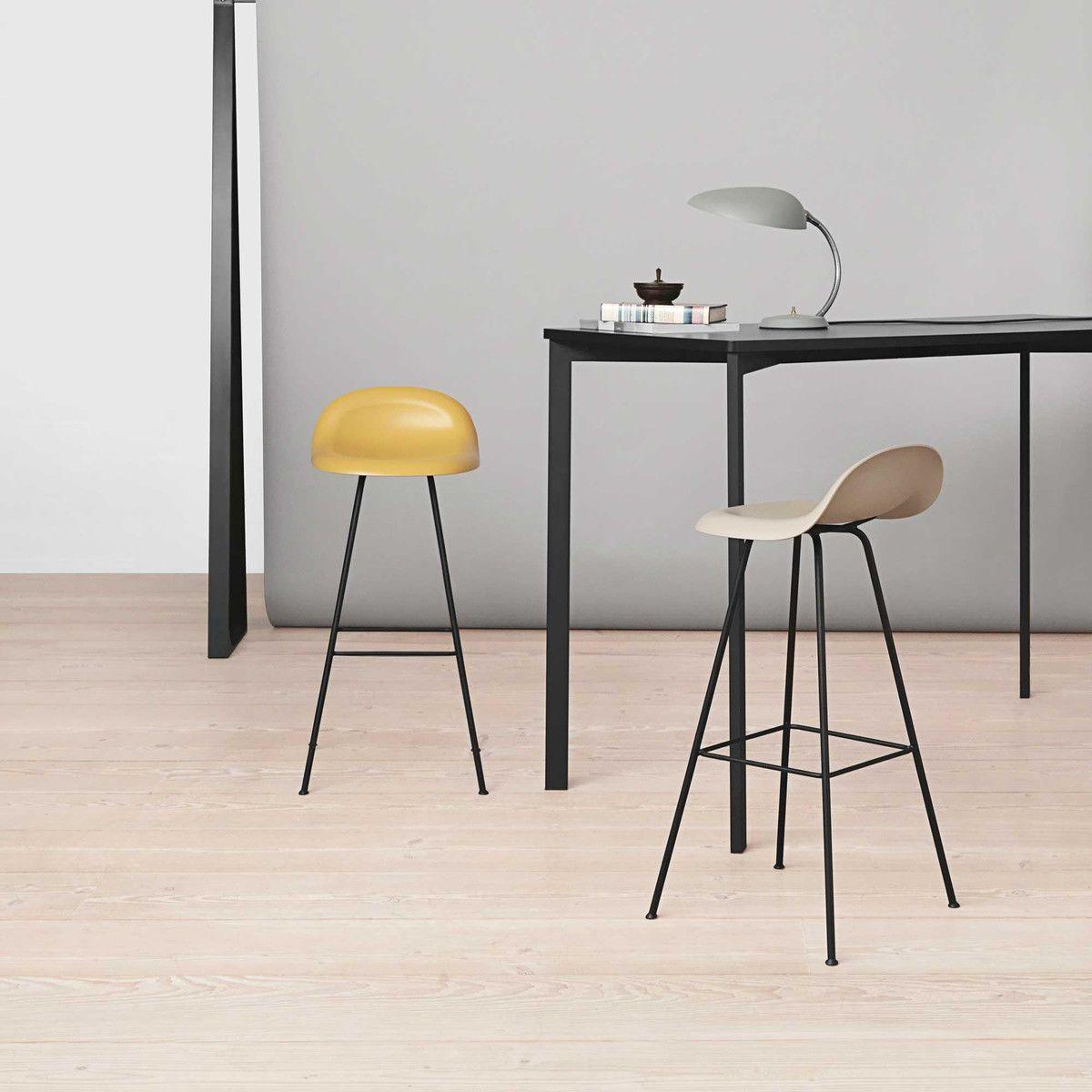 Gubi 3d bar stool barhocker gubi for Barhocker 3d