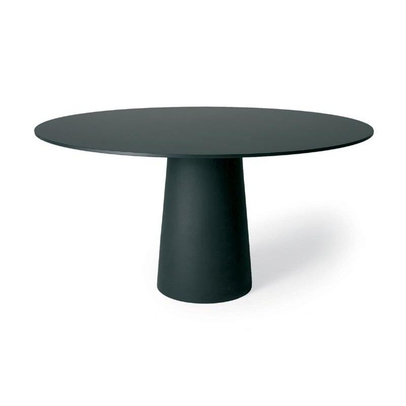 Moooi container table 120cm moooi for Tisch schwarz