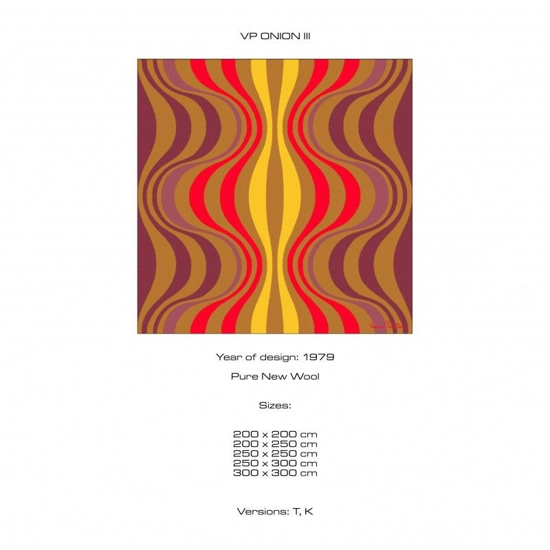 onion 3 verner panton tapis designercarpets. Black Bedroom Furniture Sets. Home Design Ideas