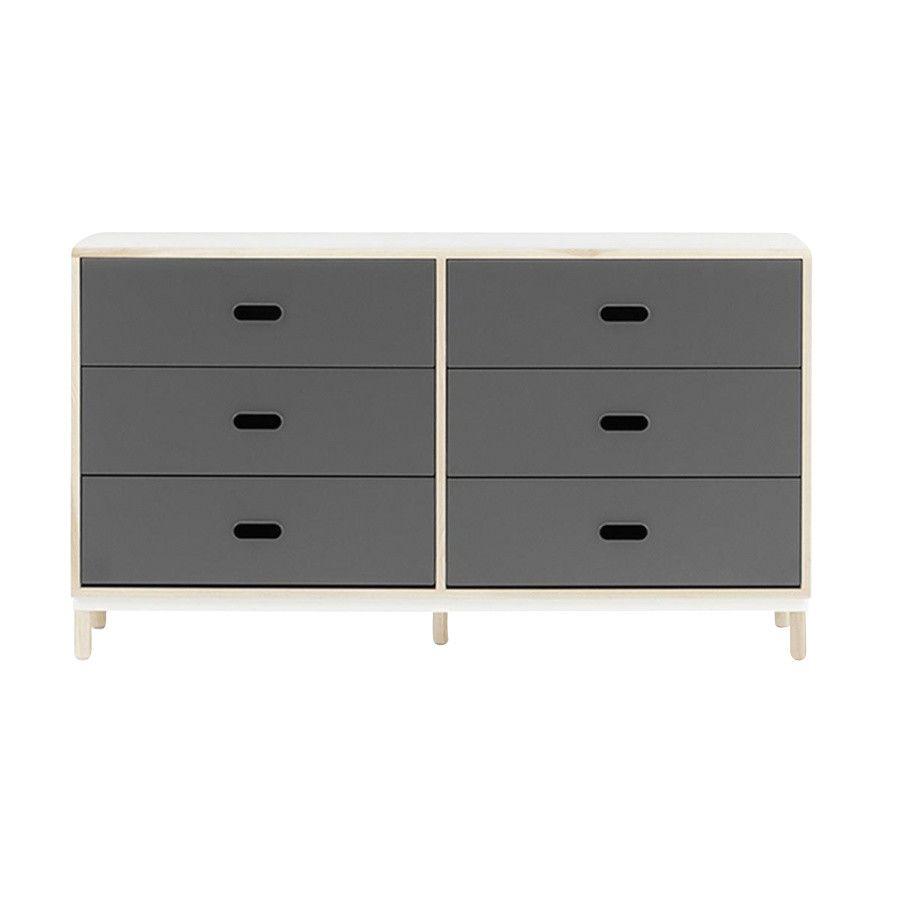 kabino commode avec 6 tiroirs normann copenhagen. Black Bedroom Furniture Sets. Home Design Ideas