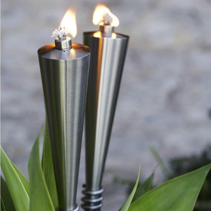 Blumus orchos torche de jardin blomus torches for Antorchas jardin
