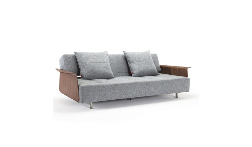 Long Horn Excess Sofa Bed With Armrests Innovation