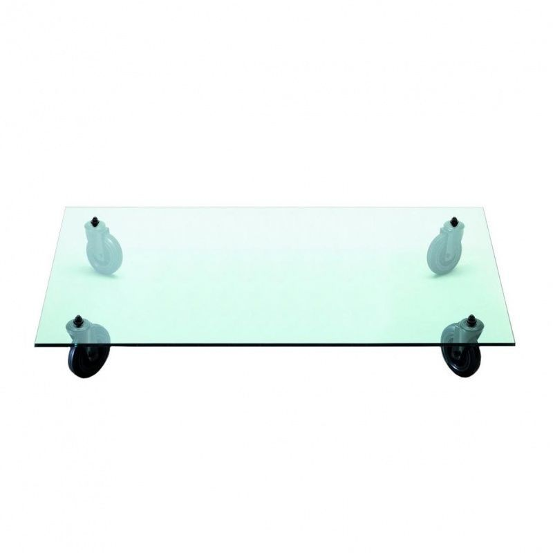 tavolo con ruote table basse sur roulettes - Table Basse A Roulettes