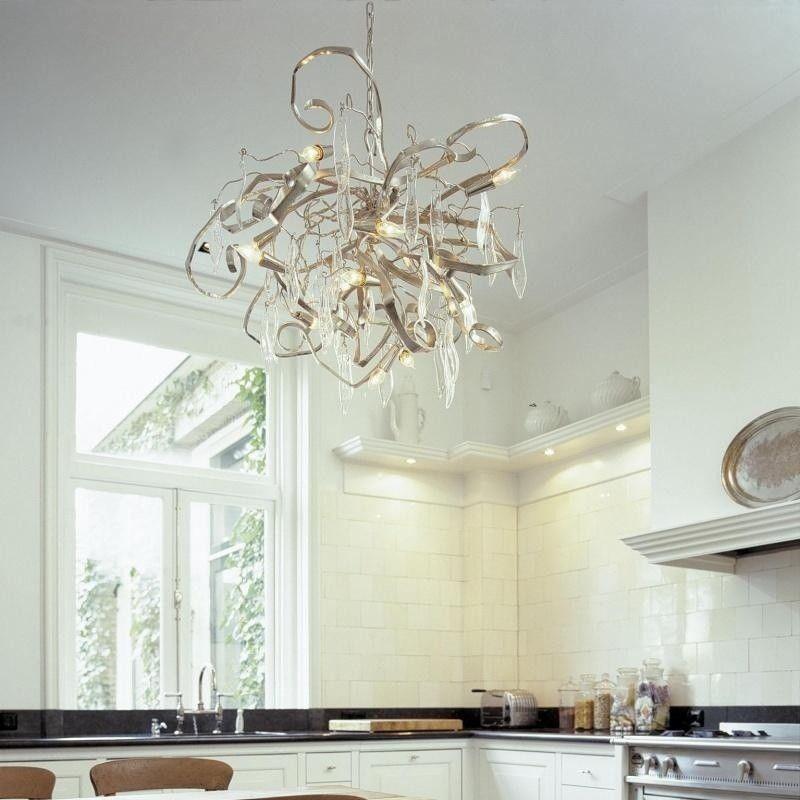 delphinium rund kronleuchter brand van egmond. Black Bedroom Furniture Sets. Home Design Ideas