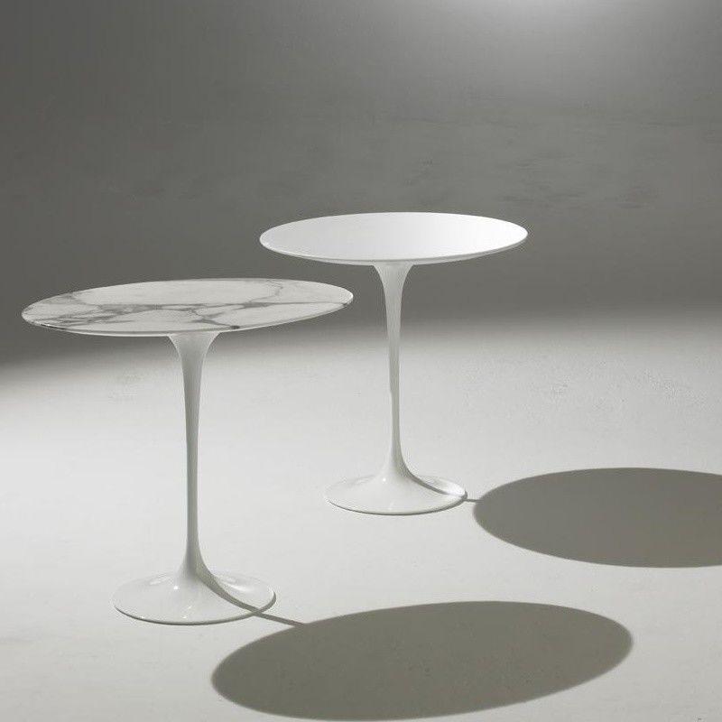 saarinen side table 41cm knoll international. Black Bedroom Furniture Sets. Home Design Ideas