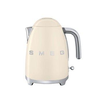 Smeg - SMEG KLF01 Wasserkocher 1,7L - creme/lackiert/integriertes Heizelement/Soft-Opening
