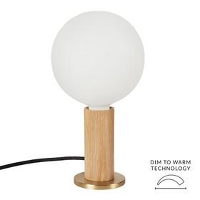 Tala Oak Knuckle Table Lamp With Voronoi I Led E27 2w 10w Ambientedirect