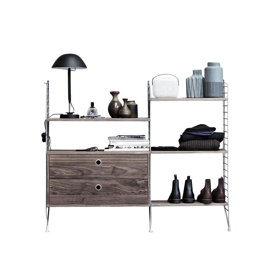 string kleiner wandschrank string schr nke aufbewahrung m bel. Black Bedroom Furniture Sets. Home Design Ideas