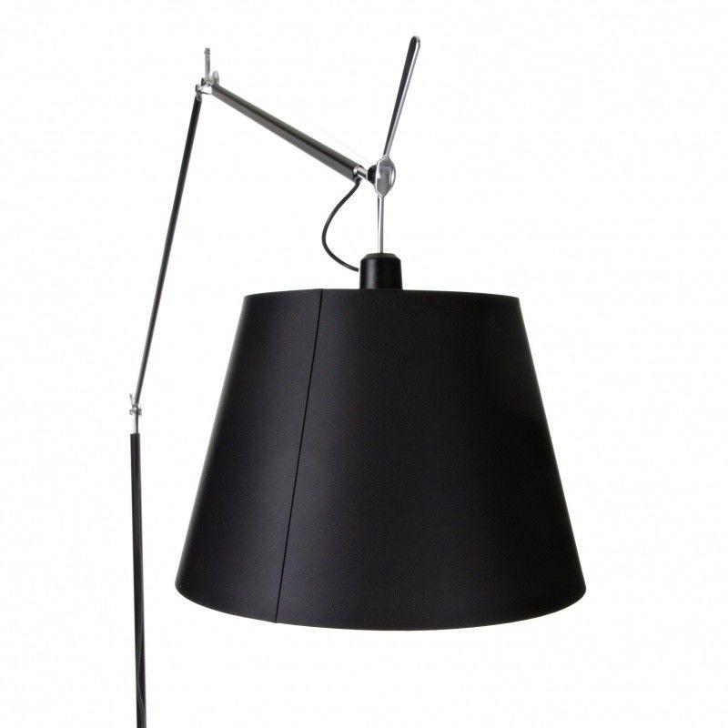 tolomeo mega terra black dimmer floor lamp artemide. Black Bedroom Furniture Sets. Home Design Ideas