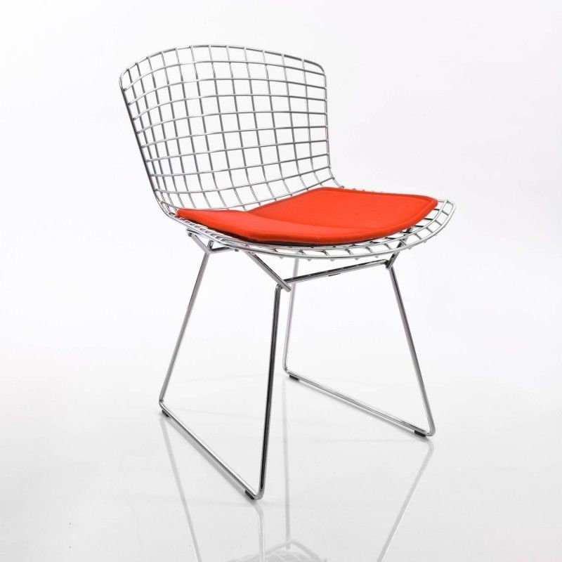 Bertoia chair knoll international bertoia for Chaise grillage design