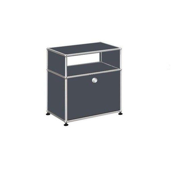 usm sideboard with falling board h 56 5cm usm haller. Black Bedroom Furniture Sets. Home Design Ideas