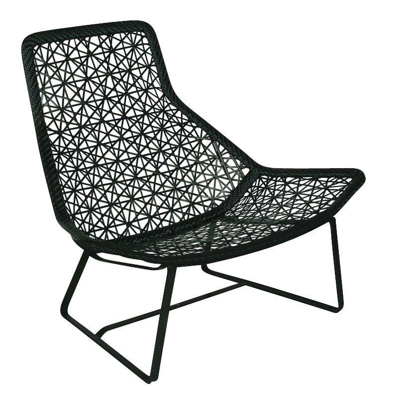 Maia relax armchair garden chair kettal for Fauteuil de jardin blanc