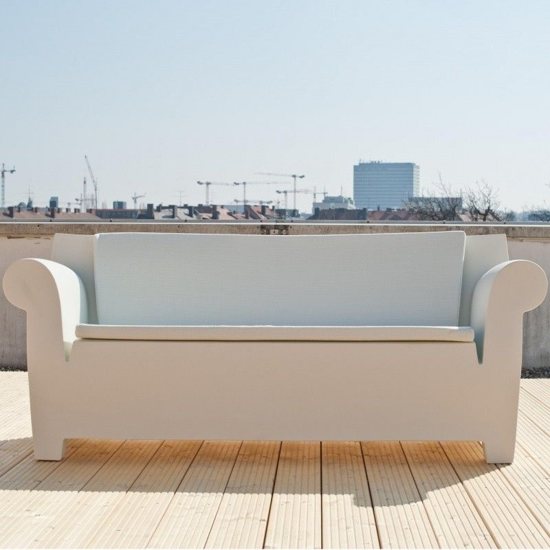 bubble club sofa two seater kartell com