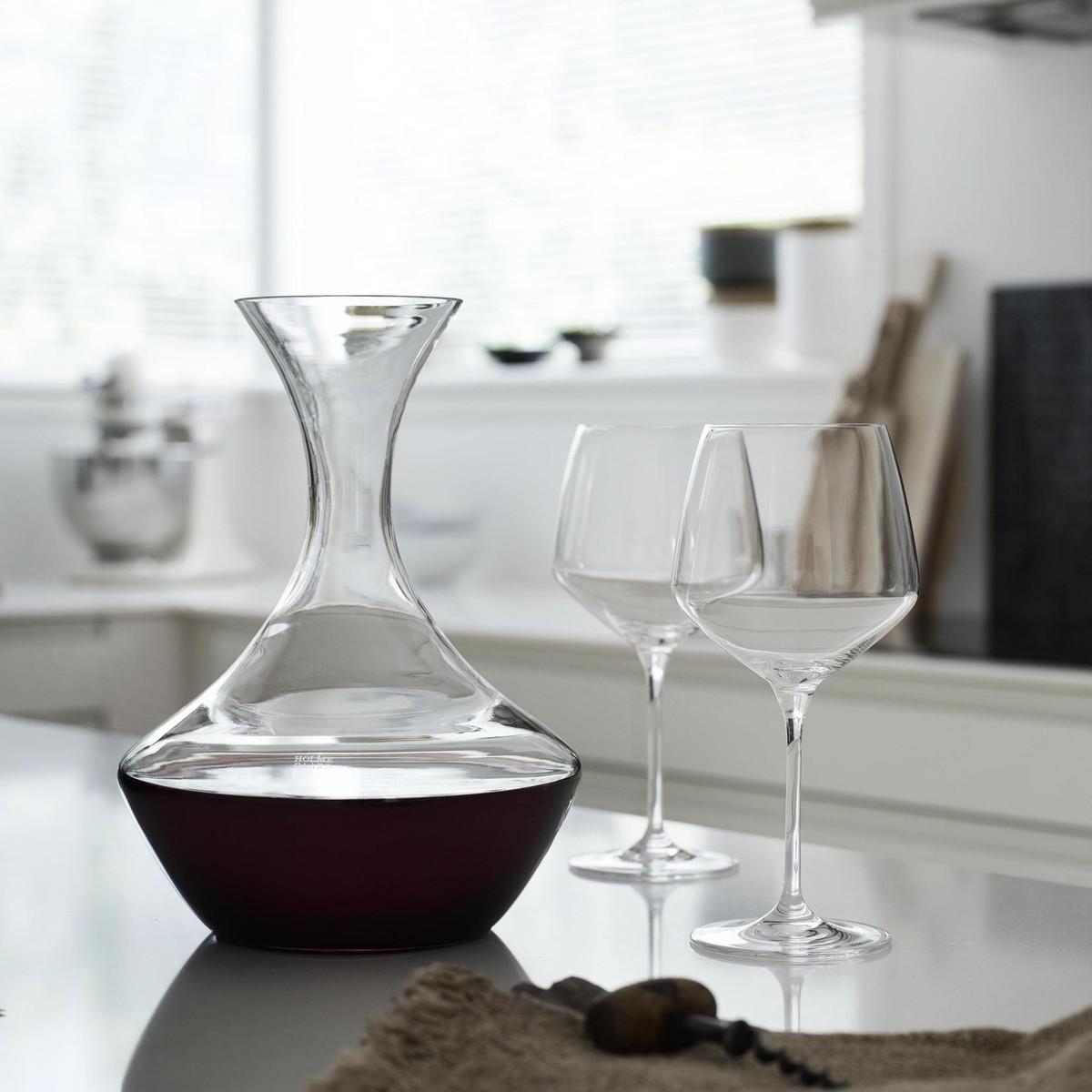 perfection wine glass set of 6 holmegaard. Black Bedroom Furniture Sets. Home Design Ideas